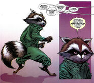 Rocket Raccoon (Earth-616) from Annihilation Conquest - Starlord Vol 1 1 001
