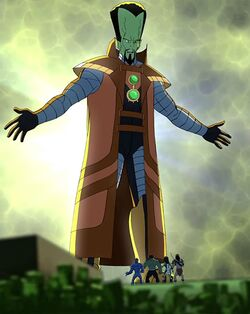 Samuel Sterns (Earth-12041) and Supreme Military Agency of Super Humans (Earth-12041) from Hulk and the Agents of S.M.A.S.H Season Vol 1 7 001.jpg