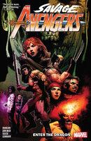 Savage Avengers TPB Vol 1 3 Enter the Dragon