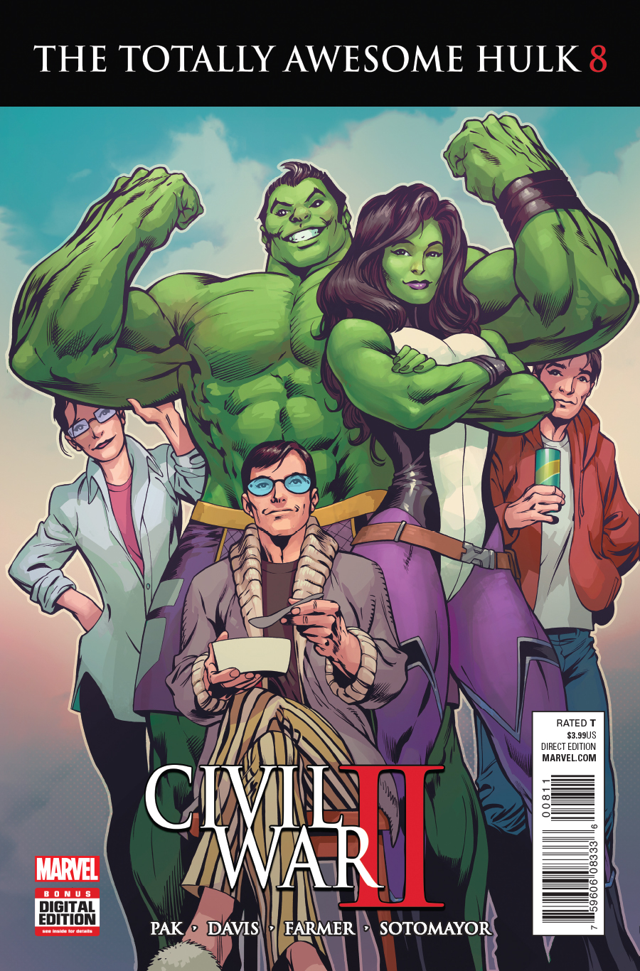 Totally Awesome Hulk Vol 1 8