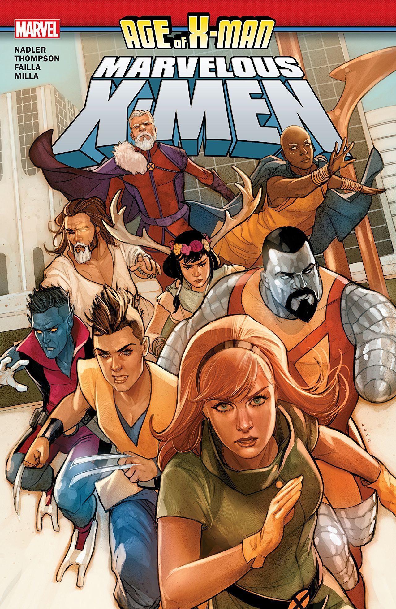 Age of X-Man: The Marvelous X-Men TPB Vol 1