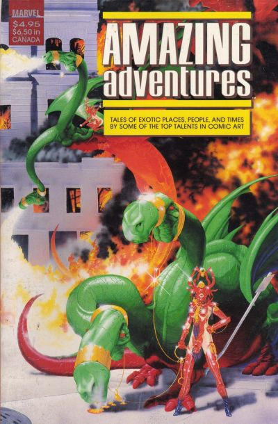 Amazing Adventure Vol 1 1
