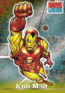 Anthony Stark (Earth-616) from Marvel Legends (Trading Cards) 0001
