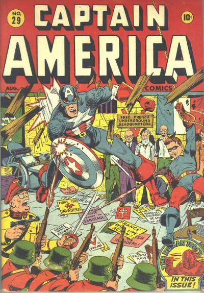 Captain America Comics Vol 1 29