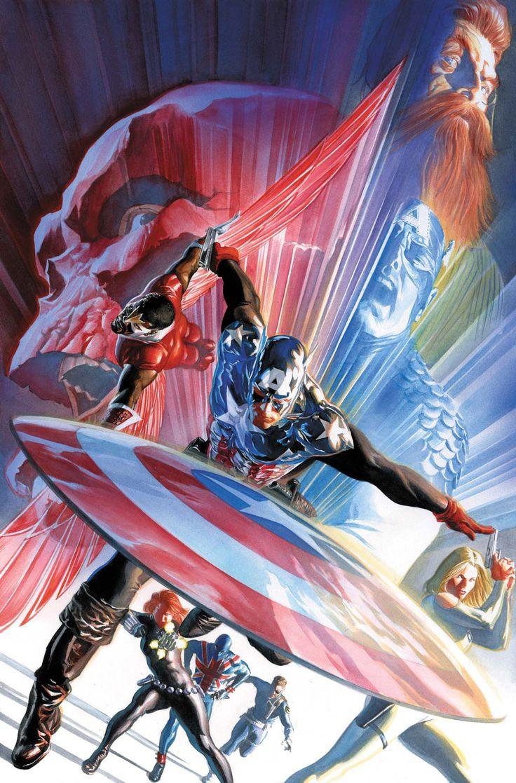 Captain America Vol 1 600 Ross Variant Textless.jpg