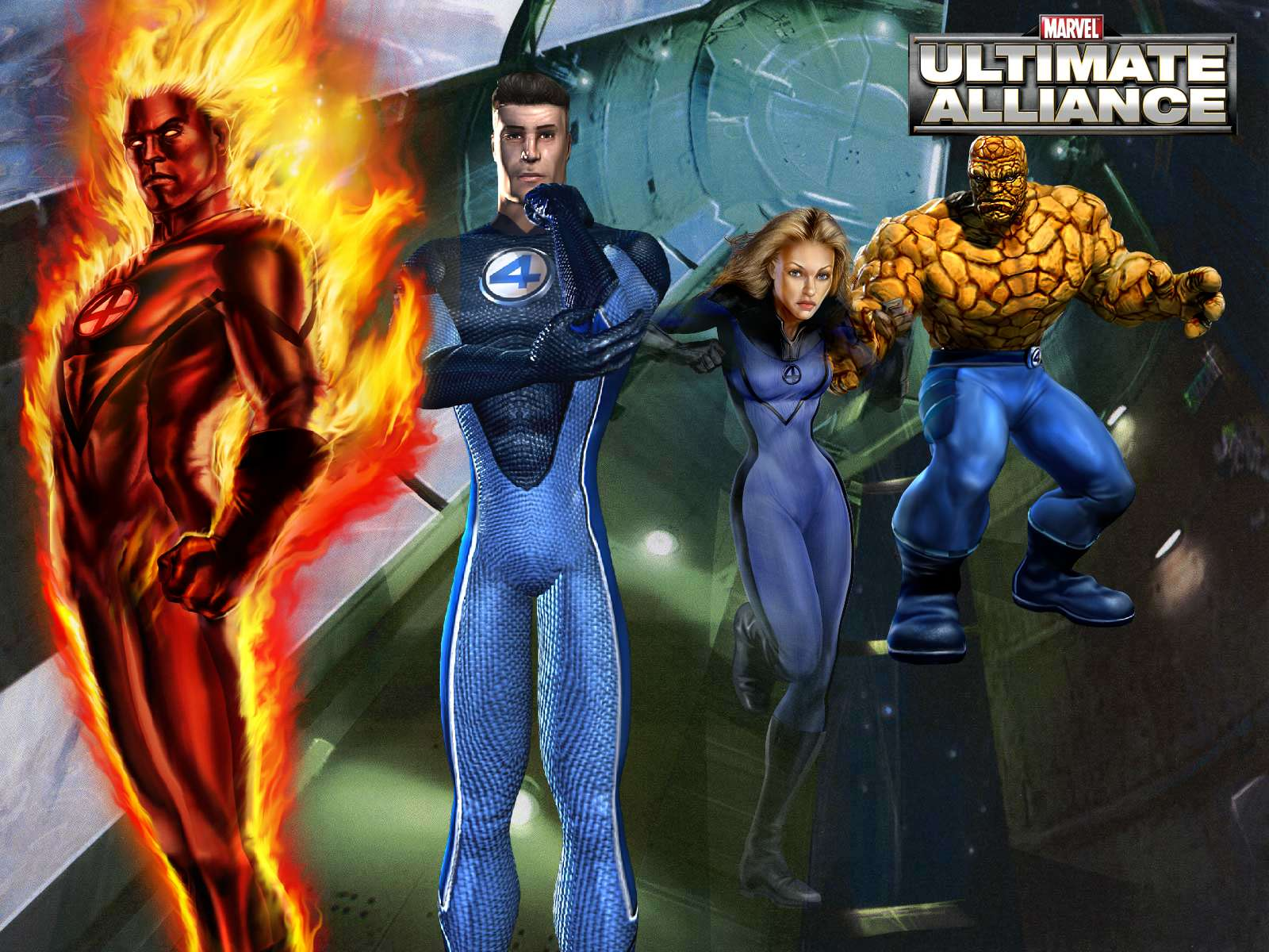 Fantastic Four (Earth-6109)/Gallery