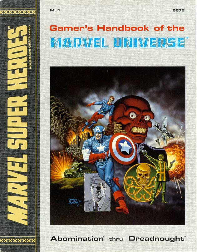 Gamer's Handbook of the Marvel Universe Vol 1