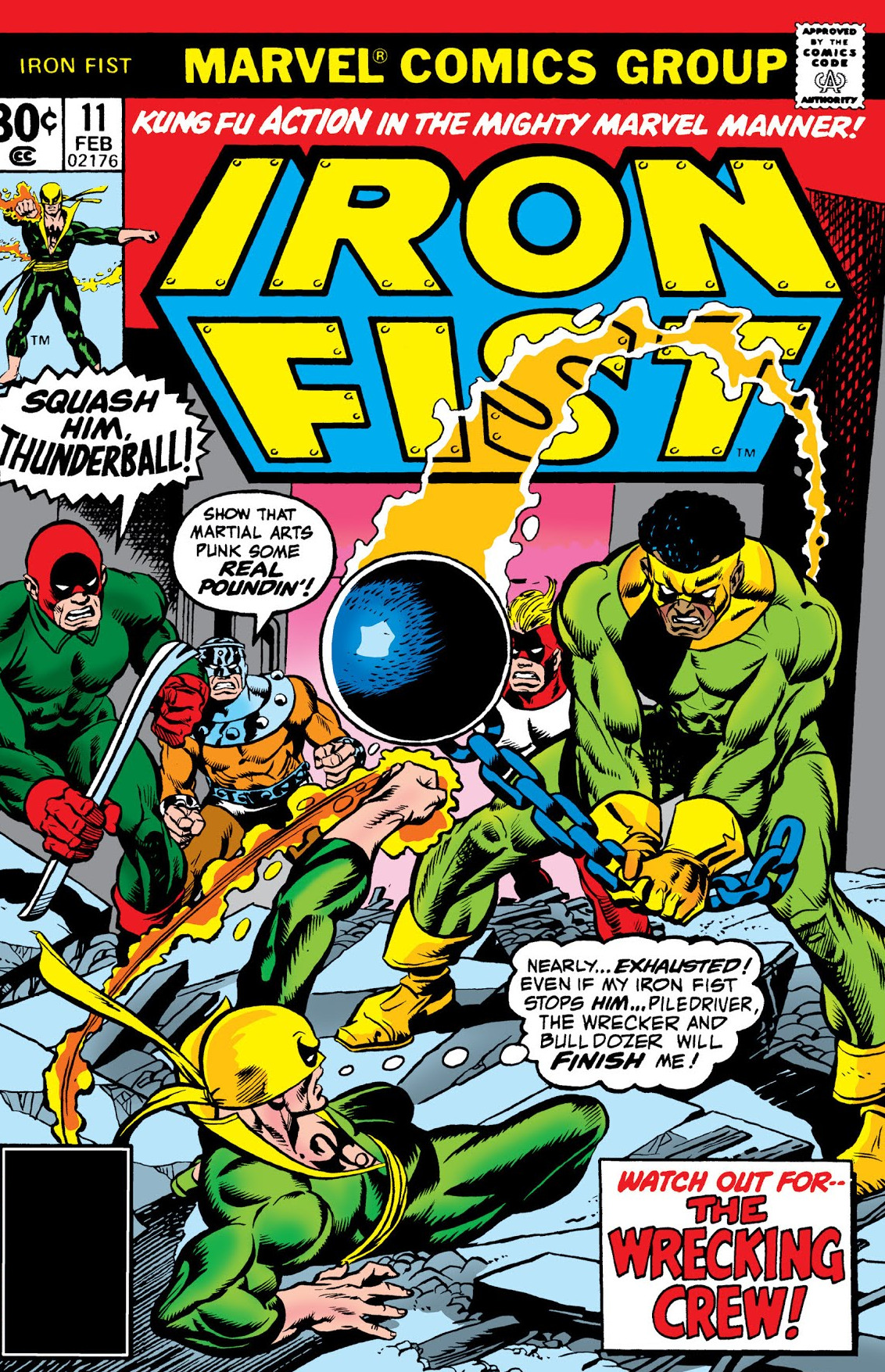 Iron Fist Vol 1 11