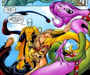 Kevin MacTaggert (Earth-58163) and Exiles (Multiverse) from Exiles Vol 1 81 001.jpg