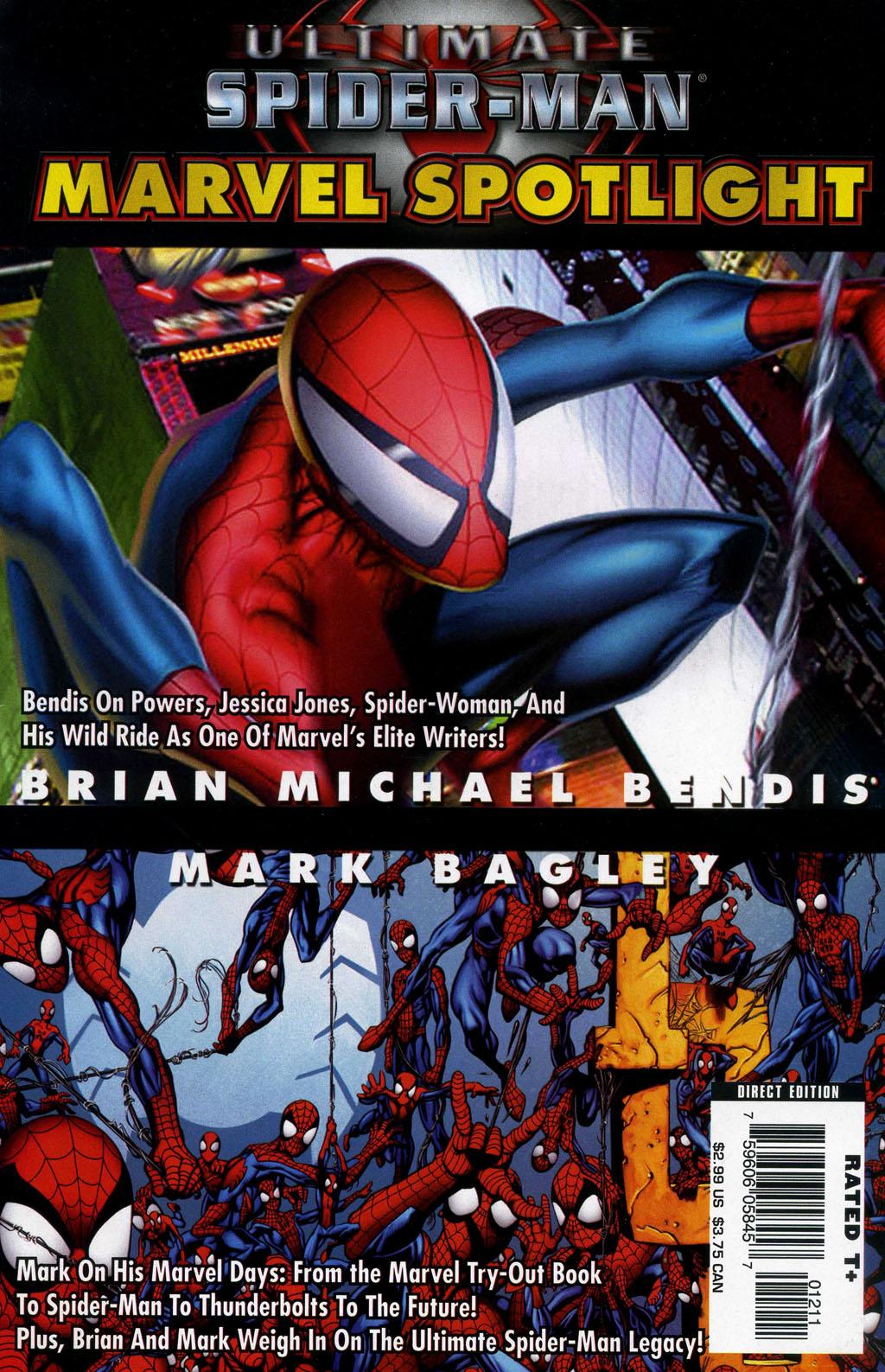 Marvel Spotlight: Brian Michael Bendis/Mark Bagley Vol 1