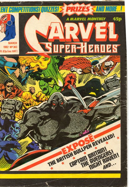 Marvel Super-Heroes (UK) Vol 1 383
