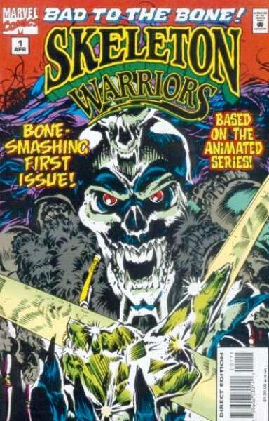 Skeleton Warriors Vol 1
