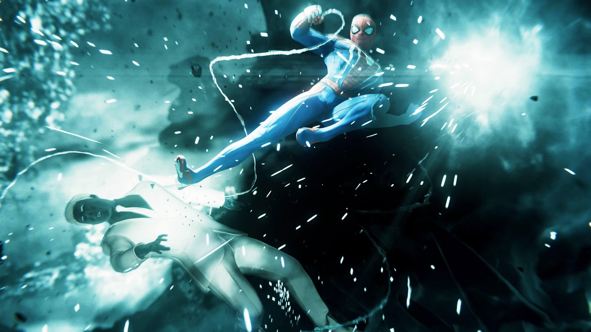 Spider-Man fights Martin Li on Marvel's Spider-Man (Earth-1048).jpg