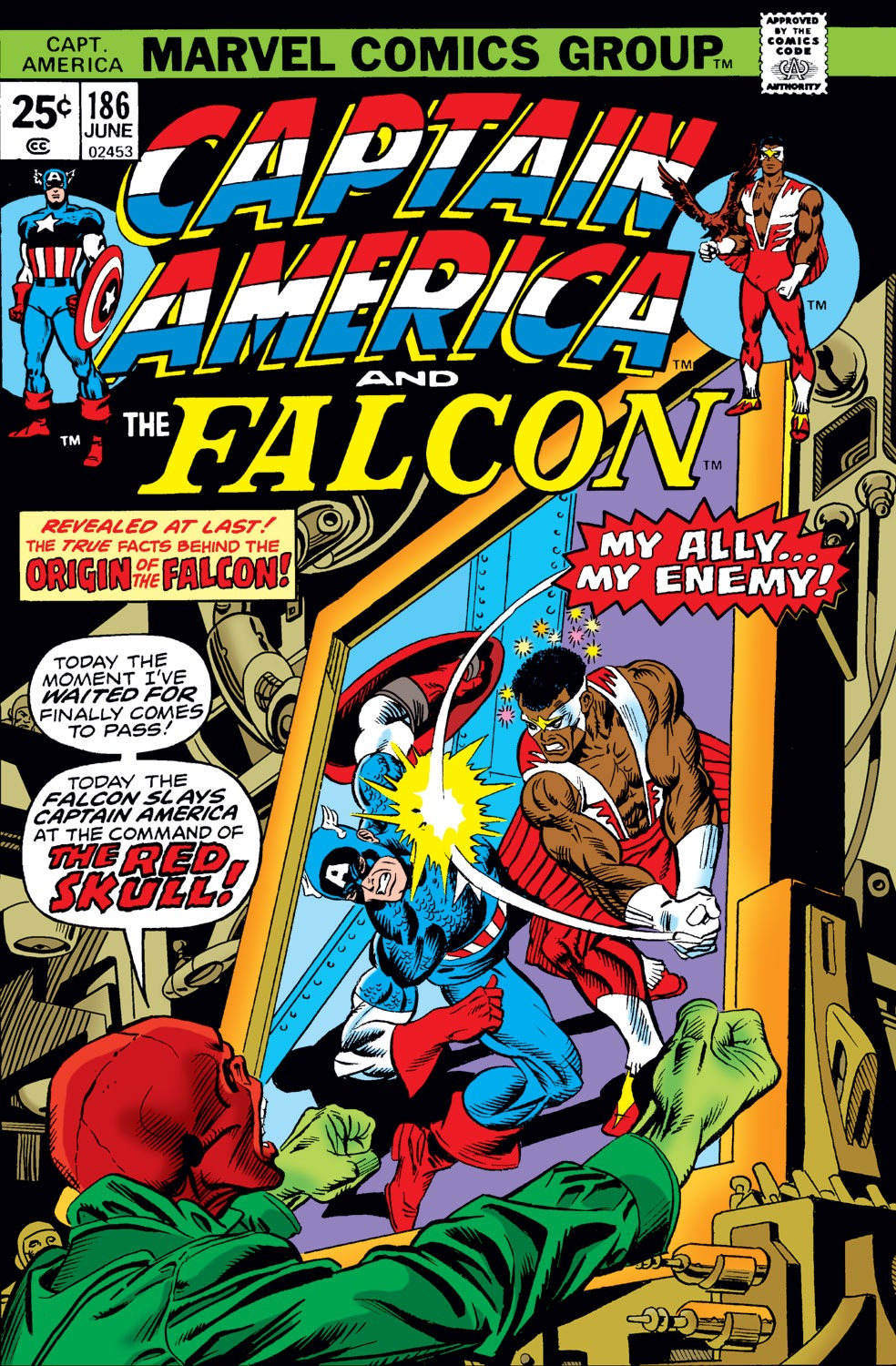 Captain America Vol 1 186