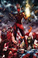 Captain Marvel Vol 10 12 Brooks Virgin Variant