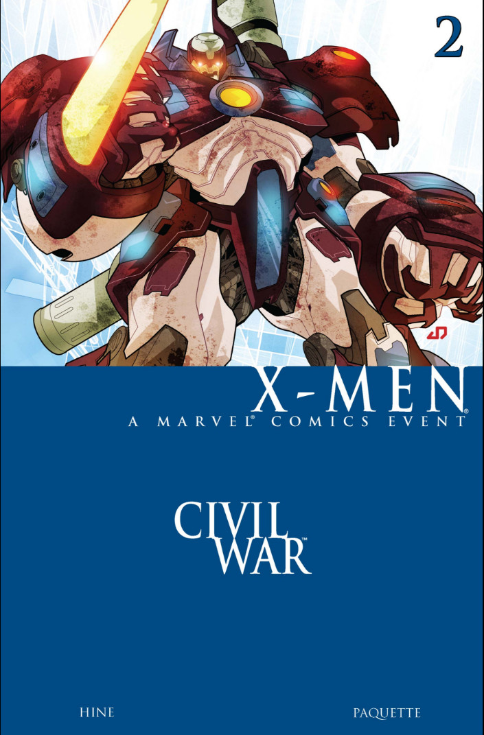 Civil War: X-Men Vol 1 2