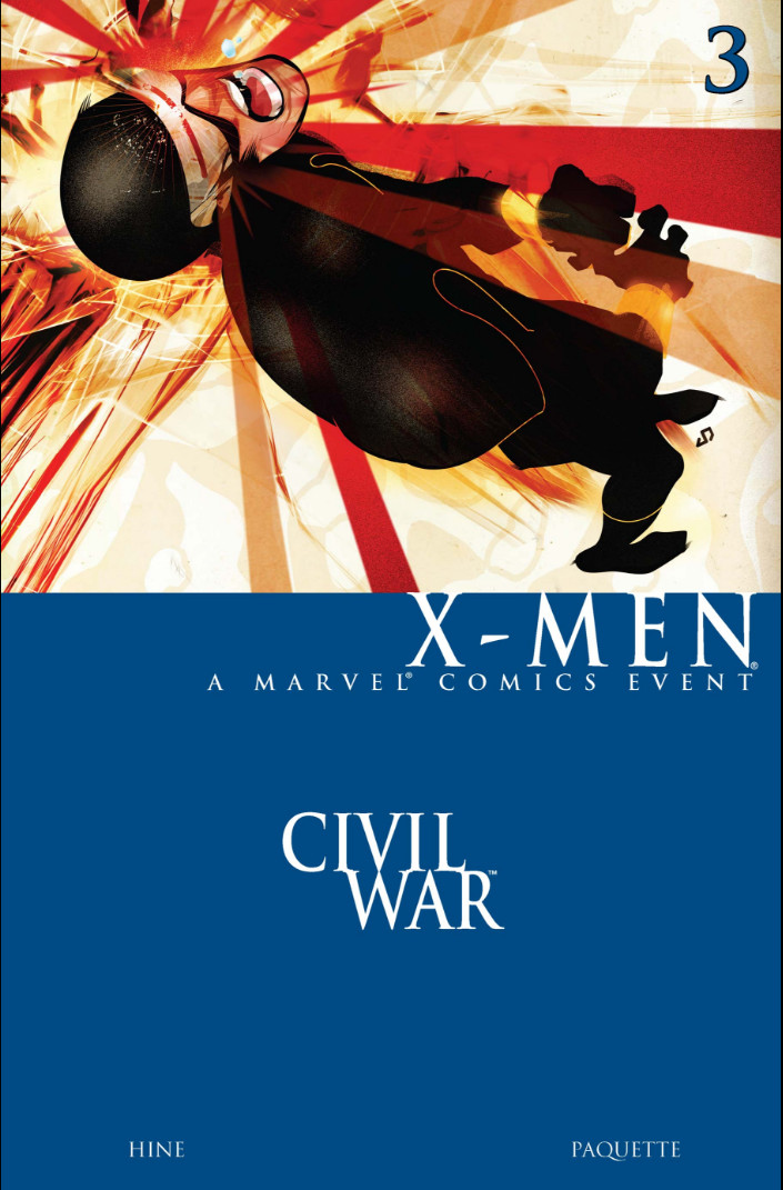 Civil War: X-Men Vol 1 3
