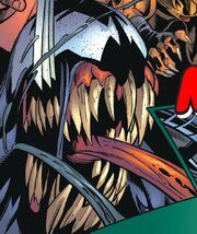 Edward Brock Jr. (Earth-Unknown) and Venom (Symbiote) (Earth-Unknown) from Ultimate Spider-Man Vol 1 71 001.jpg