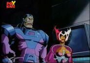 En Sabah Nur (Earth-92131) and Cal'syee Neramani (Earth-92131) from X-Men The Animated Series Season 4 7 001