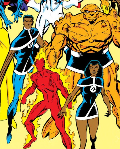 Fantastic Four (Earth-9105)/Gallery