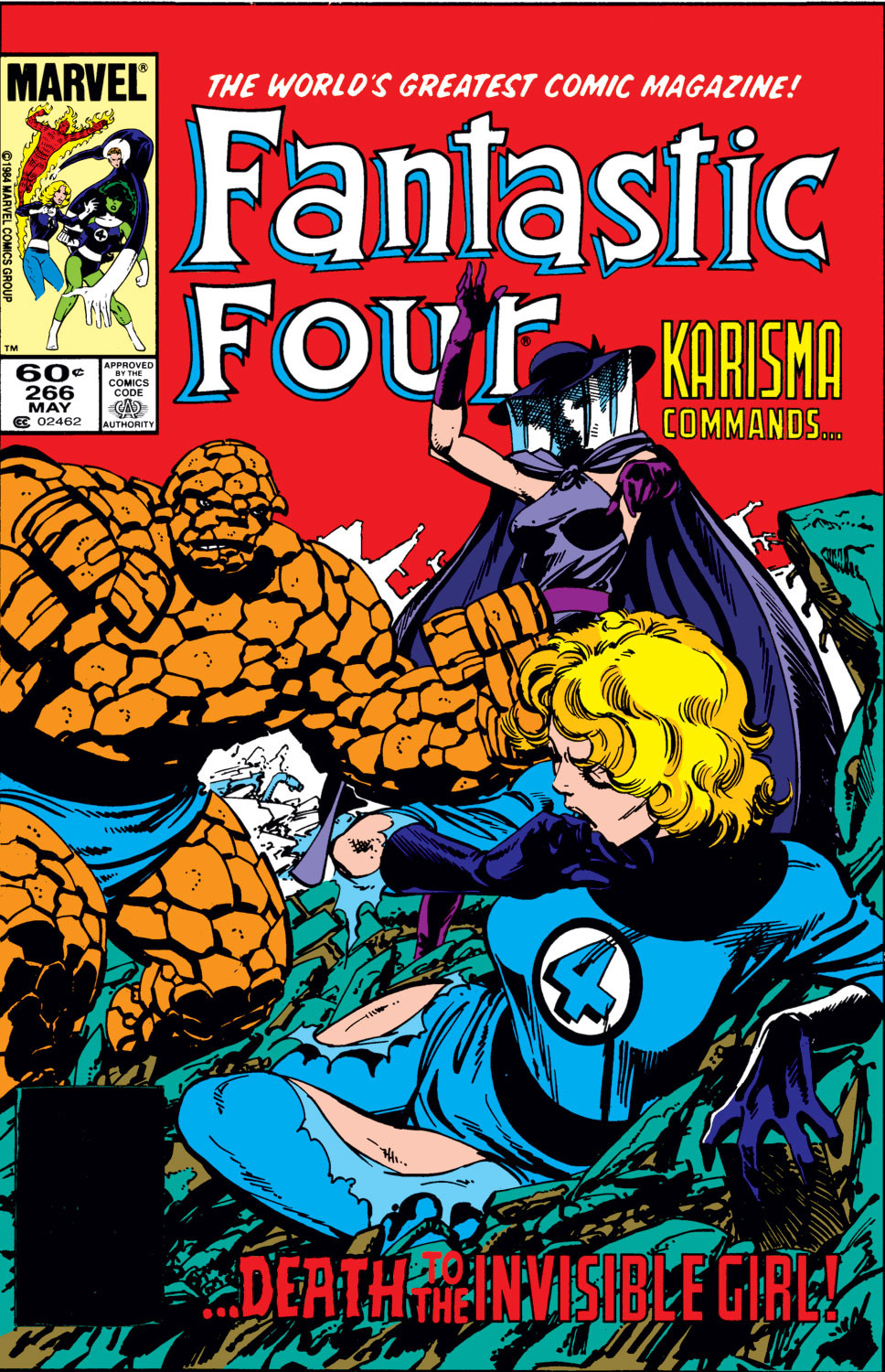 Fantastic Four Vol 1 266