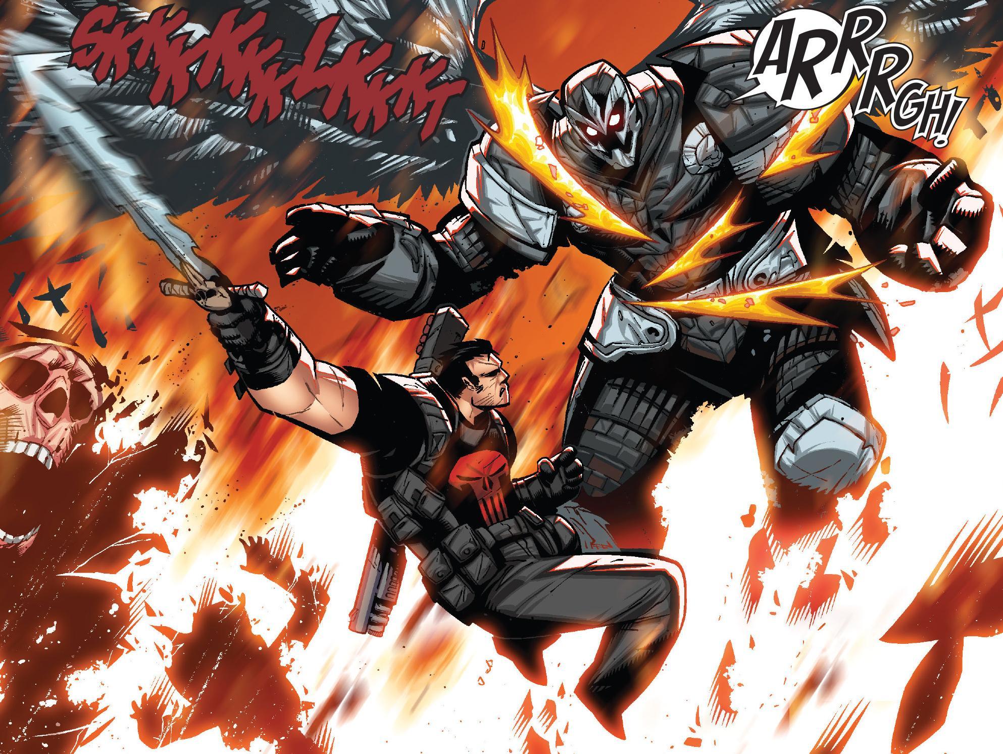 Frank Castle (Earth-616) vs. Zadkiel (Earth-616) from Thunderbolts Vol 2 29 001.jpg