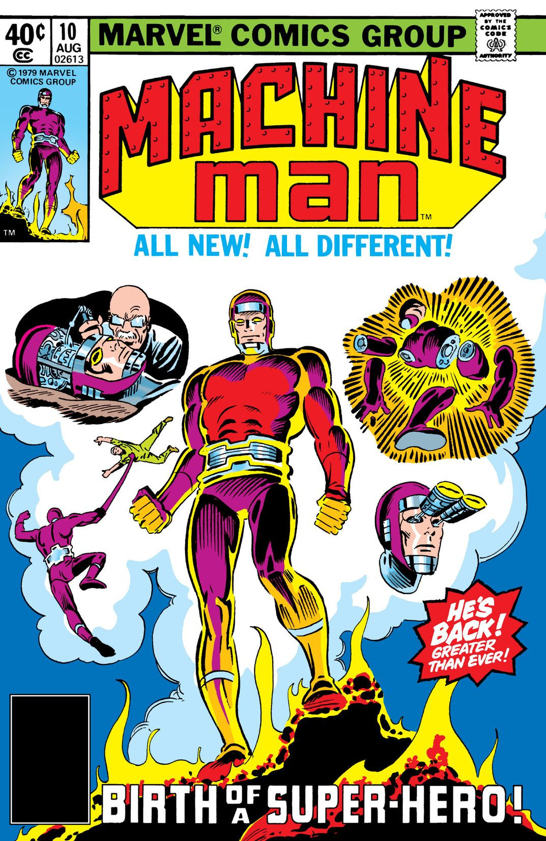 Machine Man Vol 1 10