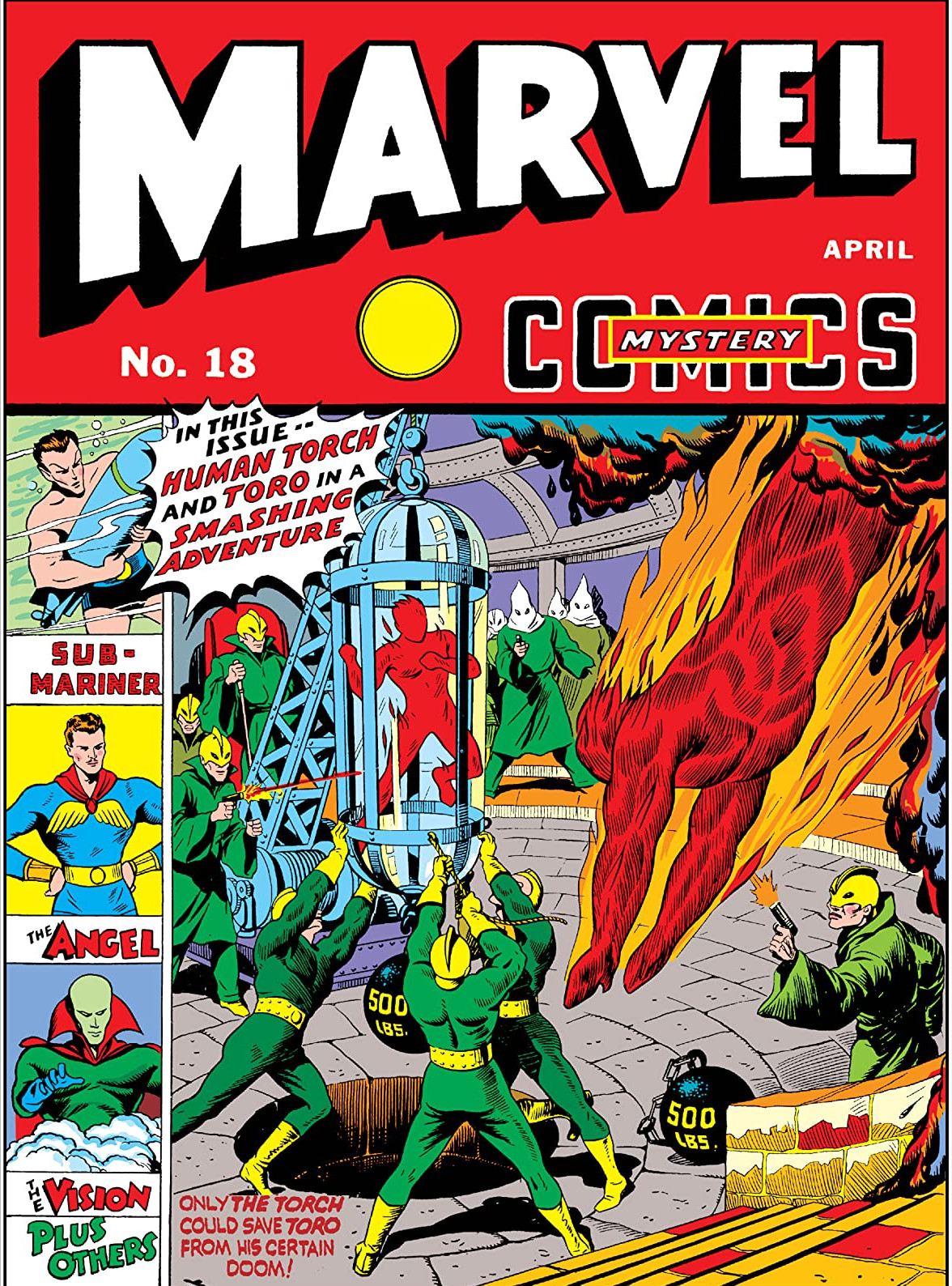 Marvel Mystery Comics Vol 1 18
