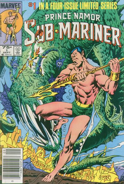 Prince Namor the Sub-Mariner Vol 1 1
