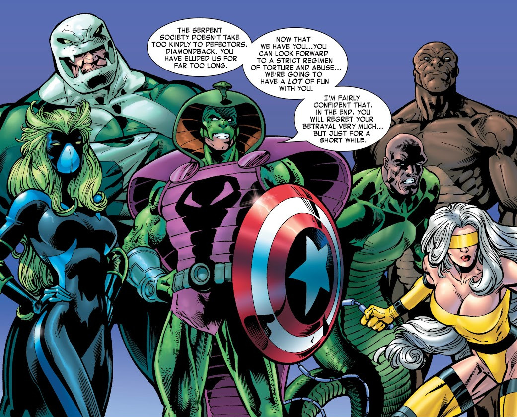 Serpent Society (Earth-616)/Gallery