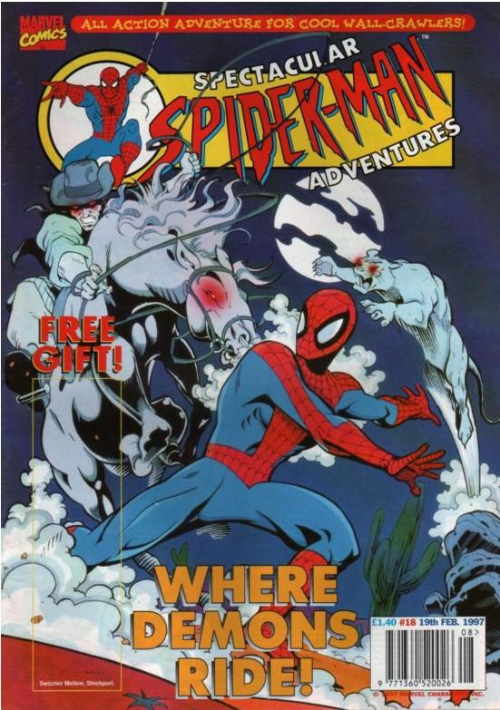 Spectacular Spider-Man (UK) Vol 1 18