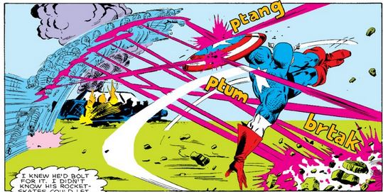 Steven Rogers (Earth-616) and Don Thomas (Earth-616) from Captain America Vol 1 318 0001.jpg