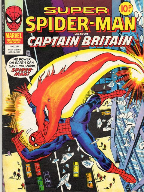 Super Spider-Man & Captain Britain Vol 1 244