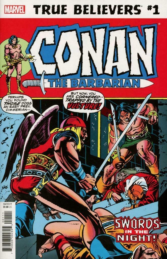 True Believers: Conan - Swords in the Night! Vol 1 1