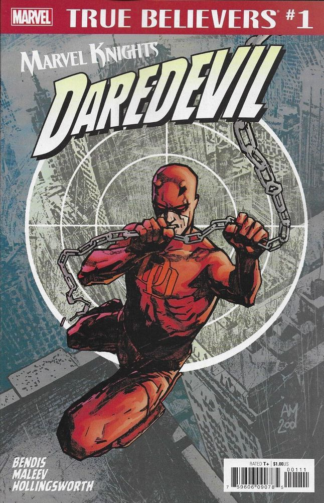 True Believers: Marvel Knights 20th Anniversary - Daredevil by Bendis & Maleev Vol 1 1