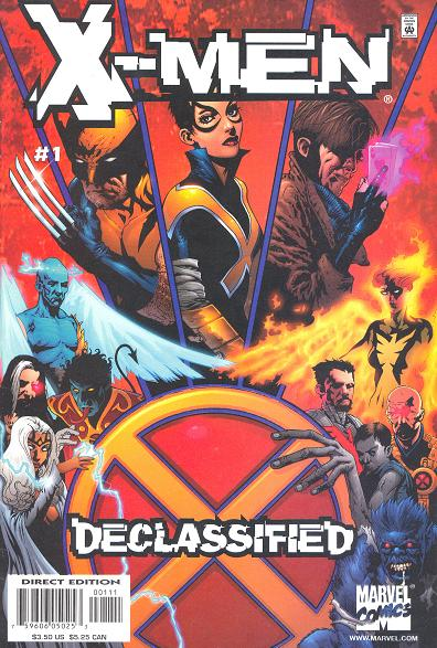 X-Men: Declassified Vol 1 1
