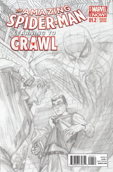 Amazing Spider-Man Vol 3 1.2 Ross Sketch Variant.jpg