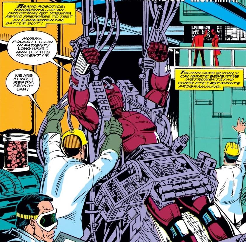 Asano Robotics (Earth-616)