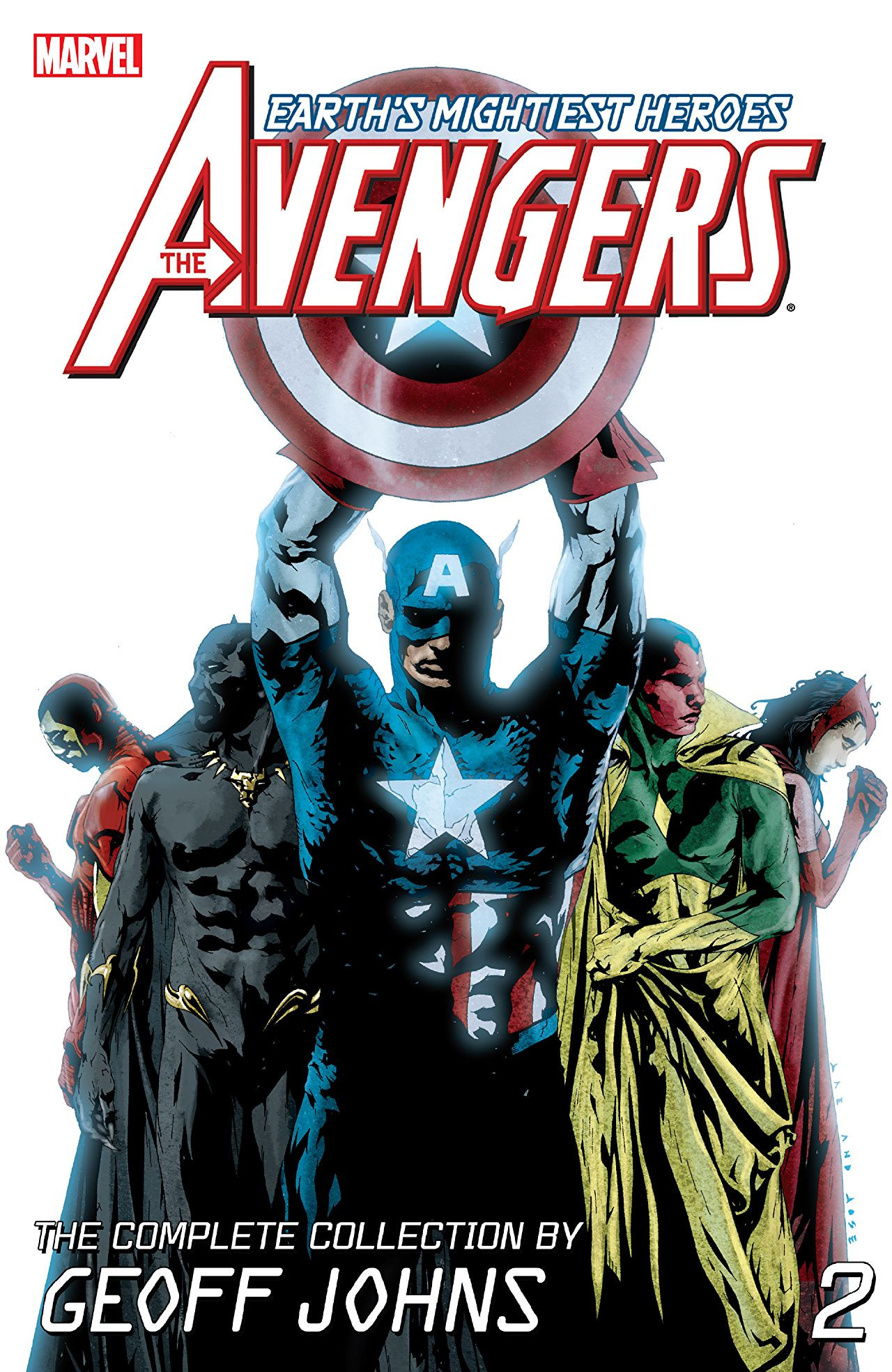 Avengers: The Complete Collection by Geoff Johns Vol 1 2