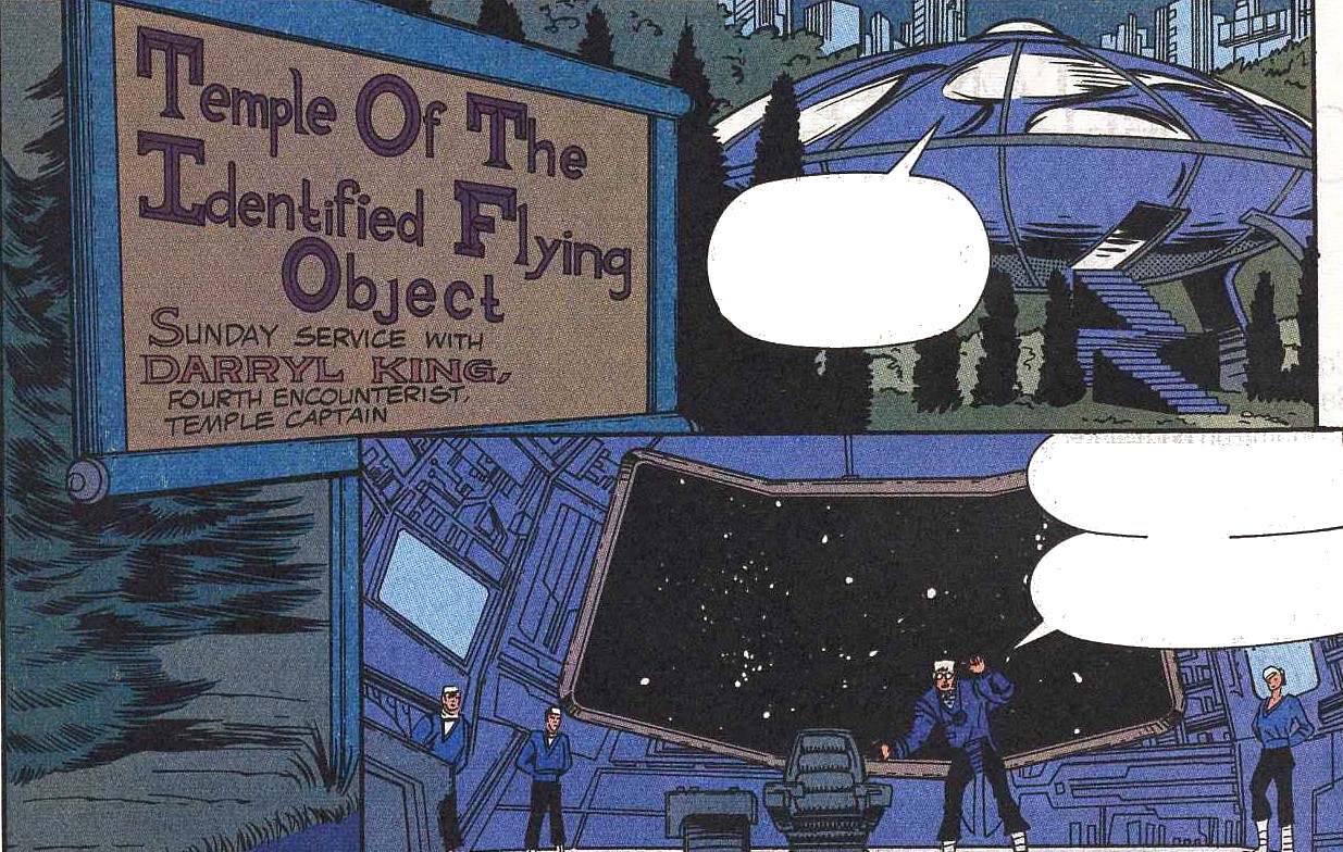 Church of the Identified Flying Object (Earth-928)