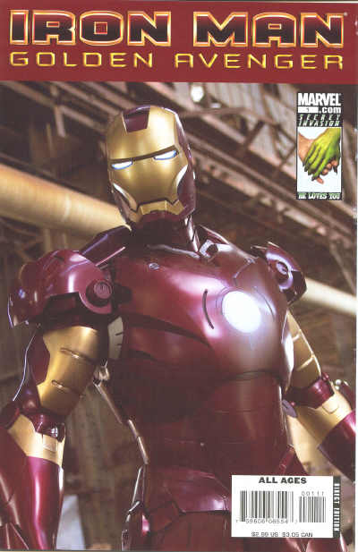 Iron Man: Golden Avenger Vol 1 1