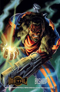 Lucas Bishop (Earth-1191) from Marvel Metal (Trading Cards) 001