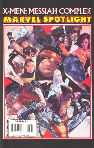 Marvel Spotlight: X-Men - Messiah Complex Vol 1 1