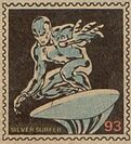 Silver Surfer Marvel Value Stamp