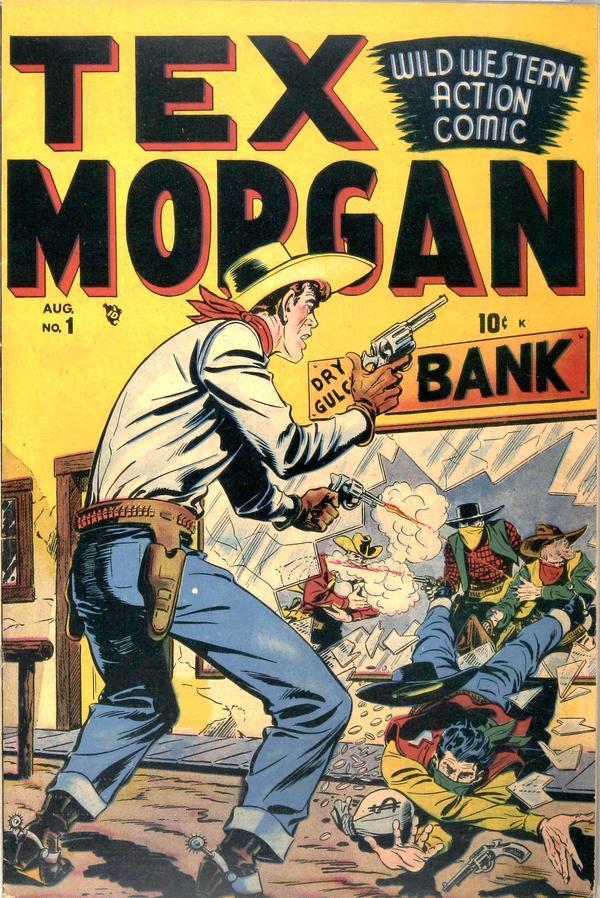 Tex Morgan Vol 1 1