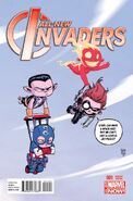 All-New Invaders Vol 1 1 Baby Variant