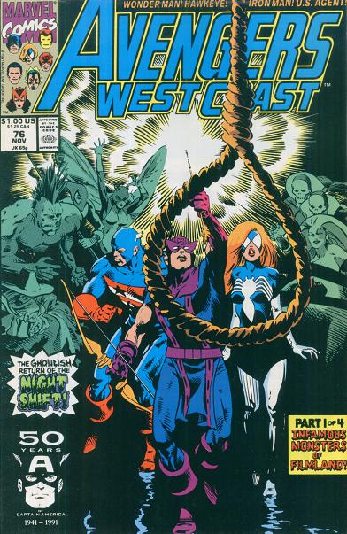 Avengers West Coast Vol 2 76