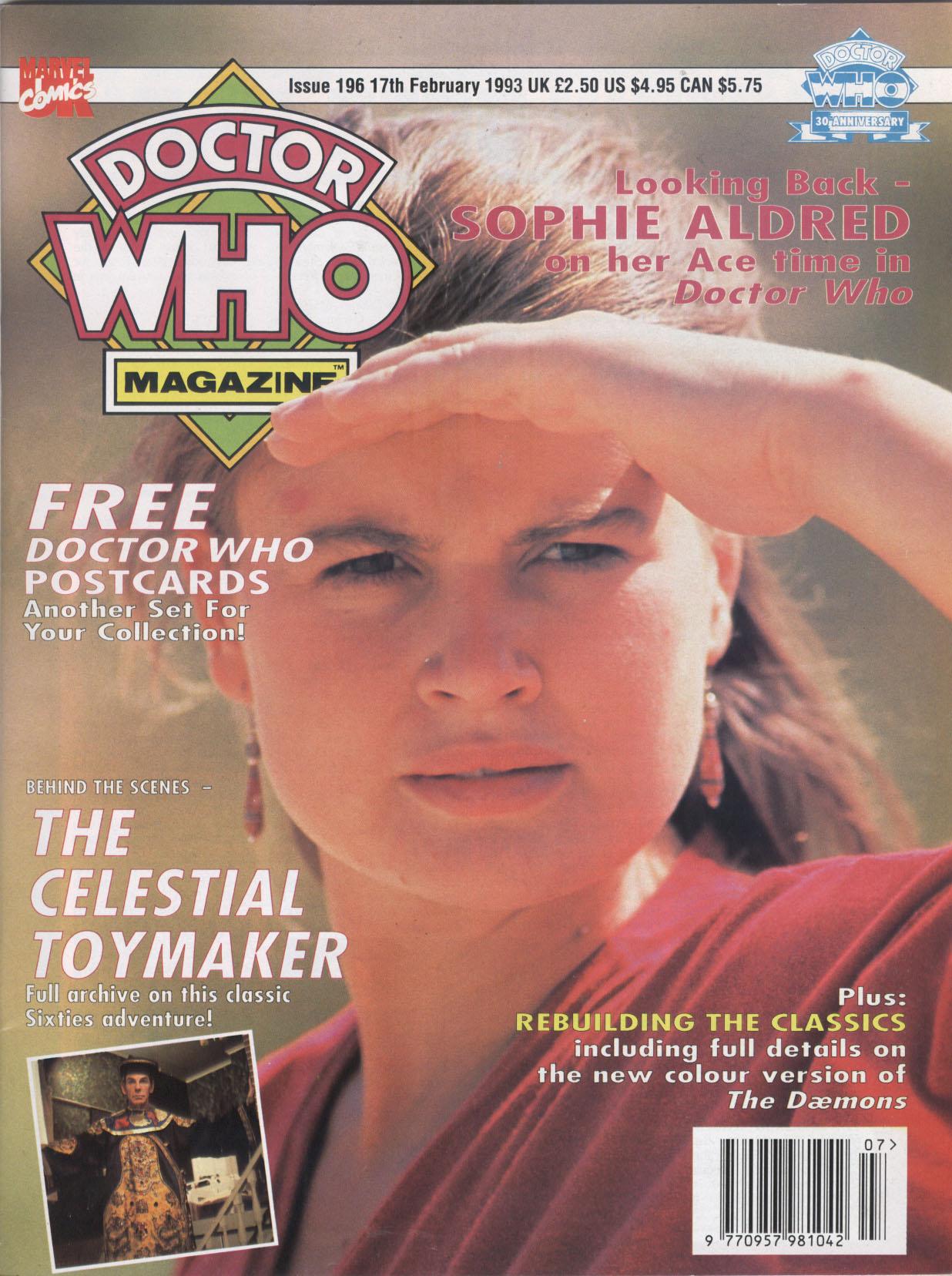 Doctor Who Magazine Vol 1 196