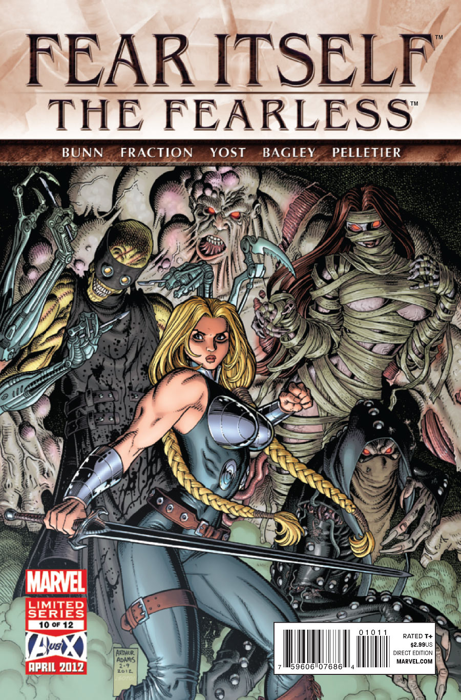 Fear Itself: The Fearless Vol 1 10