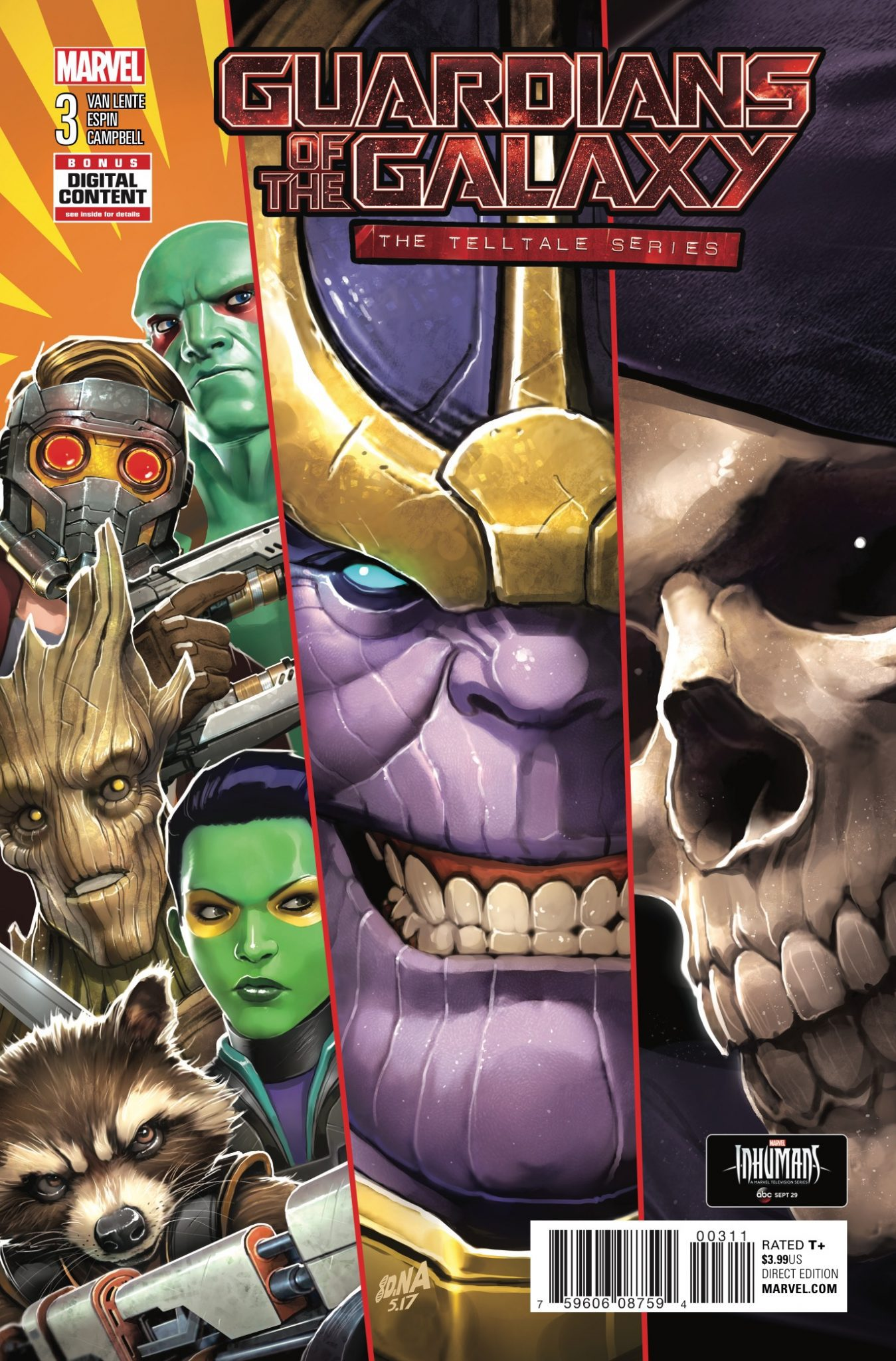 Guardians of the Galaxy: Telltale Games Vol 1 3